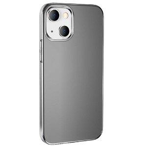 iPhone 13 Hoco Fleksibel Plastik Bagside Cover - Smokey Transparent