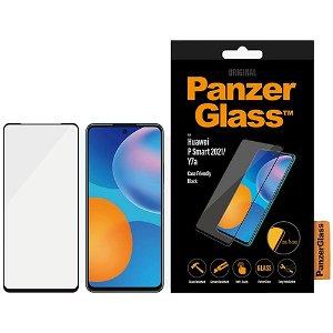 PanzerGlass Huawei P Smart (2021) Hærdet Glas - Case Friendly - Edge-to-Edge - Sort Kant