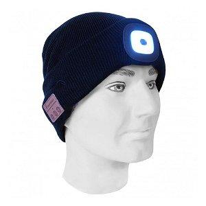 Zmartgear Bluetooth Headset Hue m. LED Lygte - Sort