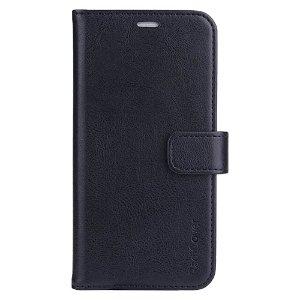 RadiCover 2-in-1 - iPhone 13 - Kunst Læder Flip Cover - 86% Strålingsbeskyttelse - Sort