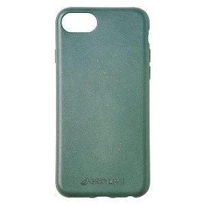 iPhone SE (2020) / 8 / 7 GreyLime 100% Plantebaseret Cover - Mørkegrøn - Køb et Cover & Plant et træ