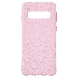 Samsung Galaxy S10+ (Plus) GreyLime 100% Plantebaseret Cover - Pink - Køb et Cover & Plant et træ