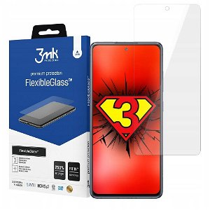 Samsung Galaxy A42 (5G) 3mk FlexibleGlass Skærmbeskyttelse - Gennemsigtig