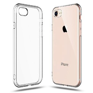 Tech-Protect iPhone 7 / 8 Fleksibelt Plastik Cover - Gennemsigtig