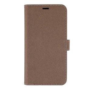 iPhone 12 Mini GEAR Onsala Eco Wallet - Nedbrydeligt Flip Cover m. Pung - Brun