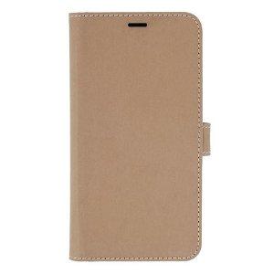 iPhone 12 / 12 Pro GEAR Onsala Eco Flip Cover med Pung - Nedbrydeligt - Sand