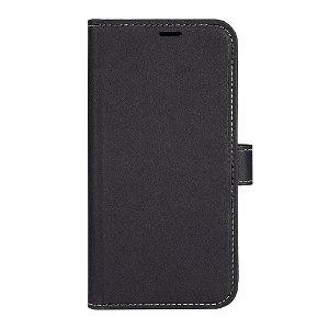 iPhone 13 GEAR Onsala Eco Flip Cover med Pung - Nedbrydeligt - Sort