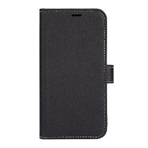 iPhone 13 Mini GEAR Onsala Eco Flip Cover med Pung - Nedbrydeligt - Sort