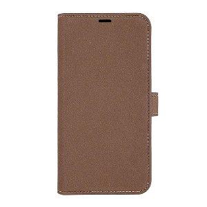 iPhone 13 Pro GEAR Onsala Eco Flip Cover med Pung - Nedbrydeligt - Brun