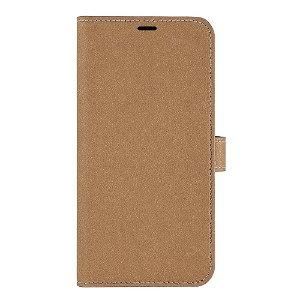 iPhone 13 Pro Max GEAR Onsala Eco Flip Cover med Pung - Nedbrydeligt - Sand