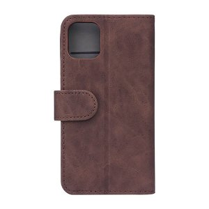 GEAR iPhone 11 Pro Wallet - Læder Flip Cover m. Pung - Brun
