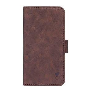 GEAR iPhone 12 / 12 Pro Wallet - Læder Flip Cover m. Pung - Brun