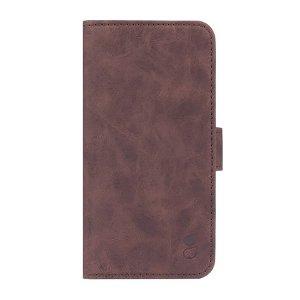 iPhone 13 Pro Max Wallet - Læder Flip Cover m. Pung - Brun