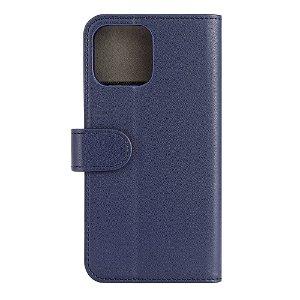 iPhone 13 Pro Max Gear Wallet - Læder Flip Cover m. Pung - Blå