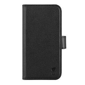 iPhone 13 Pro Gear Wallet 2in1 Flip Cover m. 7 Kortlommer og Magnet - Sort
