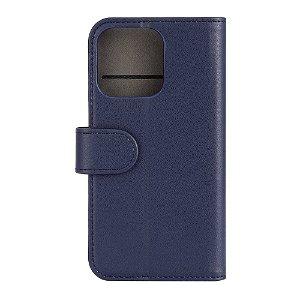 iPhone 13 Pro  Gear Wallet - Læder Flip Cover m. Pung - Blå