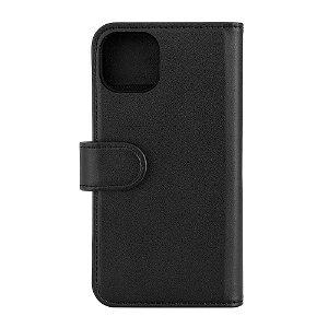 iPhone 13 GEAR 2-in-1 Læder Flip Cover m. Pung & Magnet - Sort