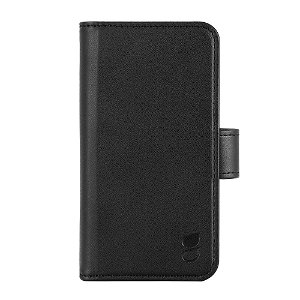 iPhone 13 Mini Gear Wallet 2in1 Flip Cover m. 7 Kortlommer og Magnet - Sort