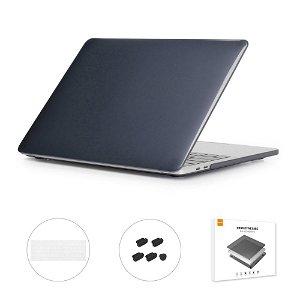 MacBook Air 13 (2018-2020) ENKAY Hard Case m. Keyboard Beskyttelse - Sort