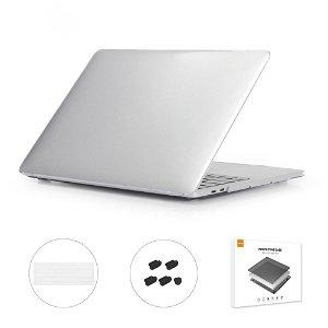 """MacBook Pro 13"""" (Touch Bar) ENKAY Hard Case m. Keyboard Beskyttelse - Gennemsigtig"""