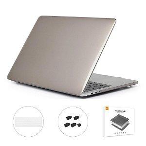 """MacBook Pro 13"""" (Uden Touch Bar) ENKAY Hard Case m. Keyboard Beskyttelse - Grå"""