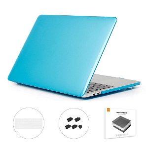 """MacBook Pro 13"""" (Uden Touch Bar) ENKAY Hard Case m. Keyboard Beskyttelse - Lyseblå"""
