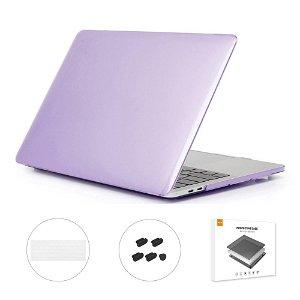 """MacBook Pro 13"""" (Uden Touch Bar) ENKAY Hard Case m. Keyboard Beskyttelse - Lilla"""
