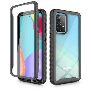 Samsung Galaxy A52s (5G) / A52 (4G / 5G) Tech-Protect DEFENSE360 Bagside Cover m. Skærmbeskyttelse - Sort