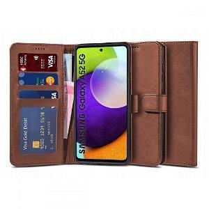 Samsung Galaxy A52s (5G) / A52 (4G / 5G) Tech-Protect Wallet 2 med Pung - Brun
