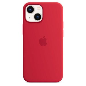 Original Apple iPhone 13 Mini Silikone MagSafe Bagside Cover PRODUCT(RED) (MM233ZM/A)