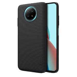 Xiaomi Redmi Note 9T (5G) NILLKIN Frosted Shield Cover inkl. Stander - Sort