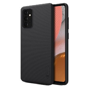 Samsung Galaxy A72 (4G/5G) NILLKIN Frosted Shield Cover m. Stander - Sort