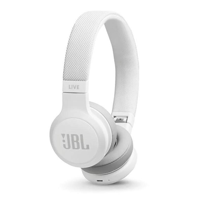 Billede af JBL Live 400BT On-Ear Hovedtelefoner m. Smart Assistent - Hvid