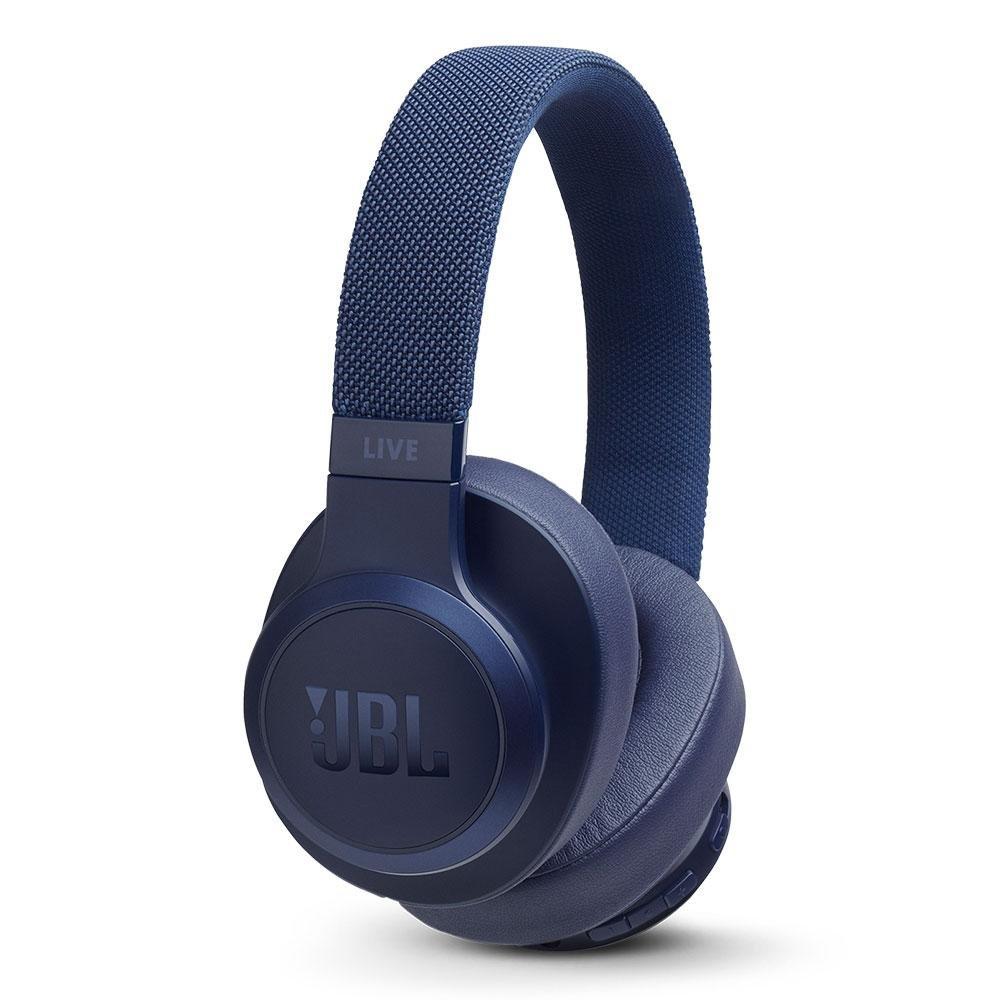 Billede af JBL Live 500BT Over-Ear Hovedtelefoner - Blå
