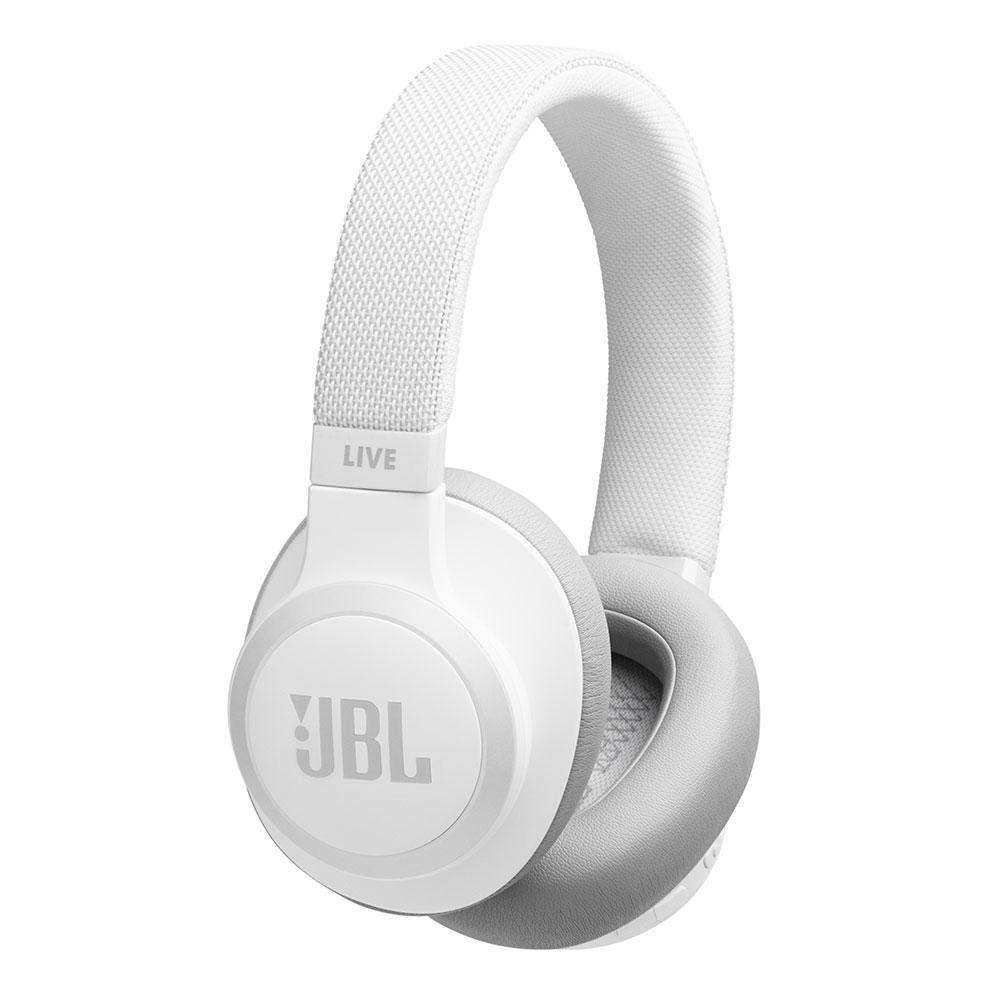 Billede af JBL Live 650BT Wireless Over-Ear Headset m. Noise Cancelling - Hvid