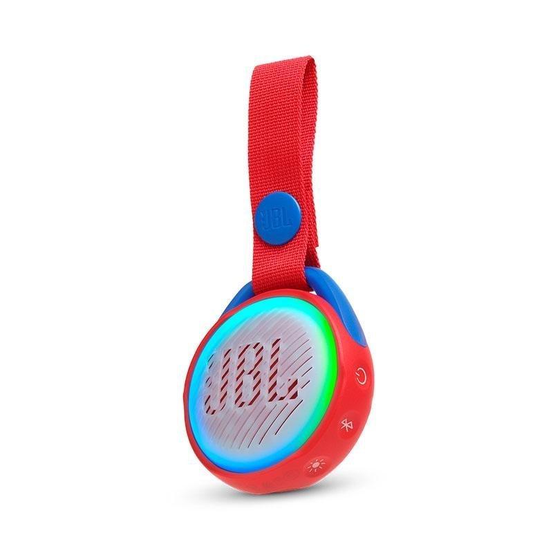 JBL JR POP – Kids Portable Bluetooth Speaker – Vandtæt Højttaler – Rød
