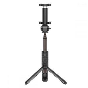 Baseus Lovely Wireless Selfie Stick - Selfie Stang m. Tripod & Knapudløser - Sort