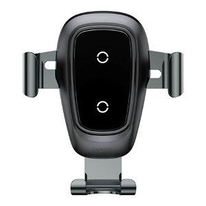 Baseus Metal Wireless Charger Gravity Car Mount - Sort