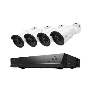 Reolink Overvågnings Sæt PoE m. 4 x RLK9-510B Kamera & 1 x NVT 2 TB HDD