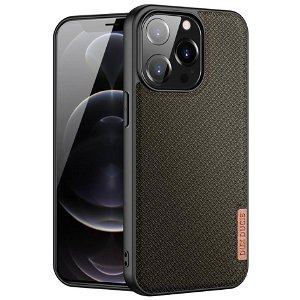iPhone 13 Pro Dux Ducis FINO Series Hybrid Cover - Army Grøn