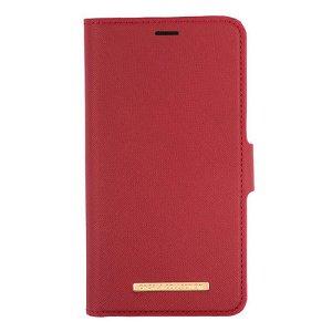 iPhone 12 Mini GEAR Onsala Collection Wallet Læder Cover m. Pung - Rød