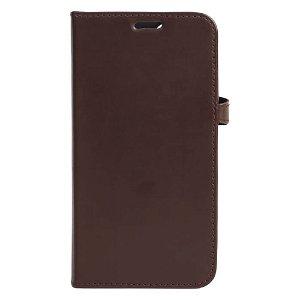 iPhone 13 Gear Buffalo Wallet Ægte Læder Magnet Flip Cover m. Pung - Brun