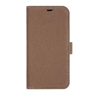 iPhone 13 Pro Max GEAR Onsala Eco Flip Cover med Pung - Nedbrydeligt - Brun