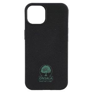 iPhone 13 Mini GEAR Onsala Eco Cover - Miljøvenligt Bagside Cover - Sort