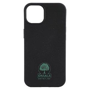iPhone 13 GEAR Onsala Eco Cover - Miljøvenligt Bagside Cover - Sort