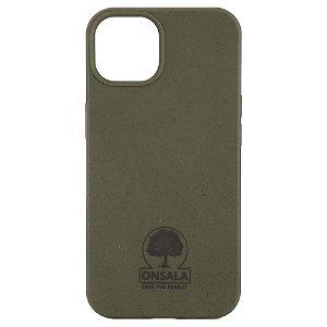iPhone 13 GEAR Onsala Eco Cover - Miljøvenligt Bagside Cover - Grøn