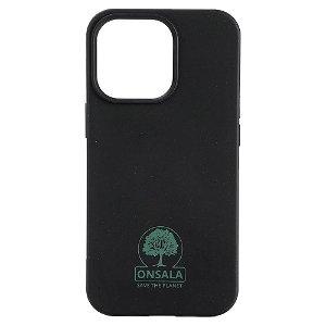 iPhone 13 Pro GEAR Onsala Eco Cover - Miljøvenligt Bagside Cover - Sort