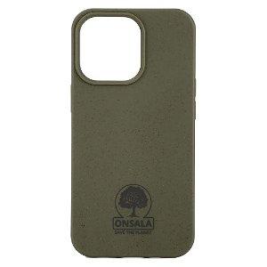 iPhone 13 Pro GEAR Onsala Eco Cover - Miljøvenligt Bagside Cover - Grøn