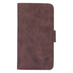 GEAR iPhone SE 2020/8/7 Wallet - Læder Flip Cover m. Pung - Brun