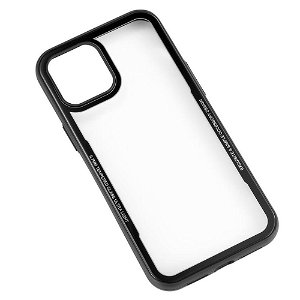 iPhone 12 Pro Max GEAR Cover m. Glas bagside - Sort